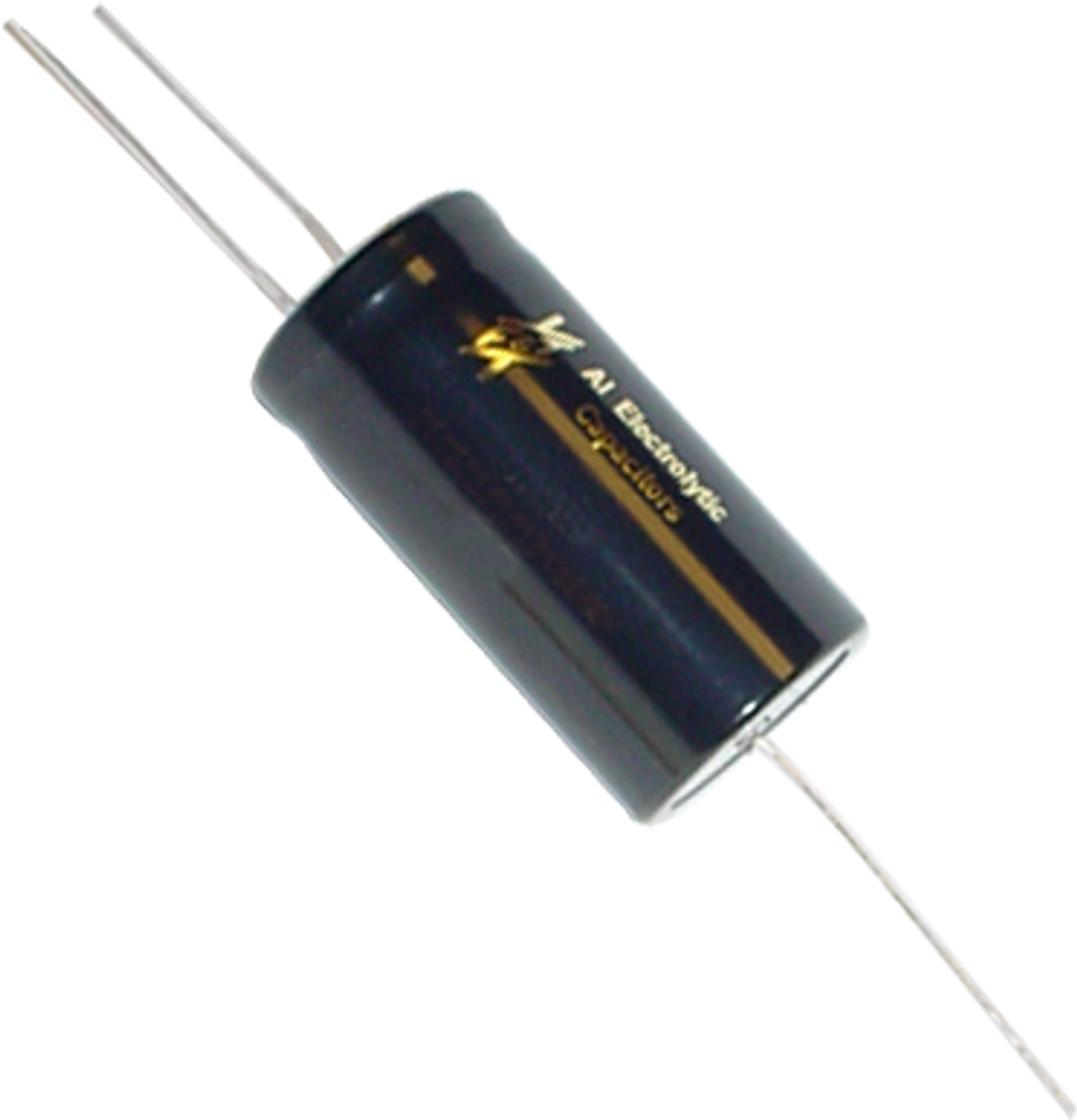 F&T Capacitor - Electrolytic, Multi-Section, Axial Lead, 25/25µF 25V