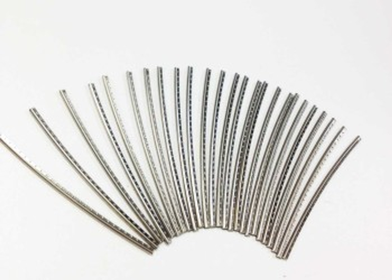 Fret Wire Set - Medium Stainless (25pcs)