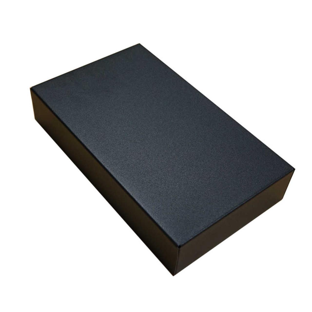 Hammond 1441-16BK3 - Black Steel Chassis 10x6x2
