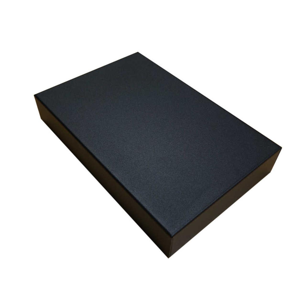 Hammond 1441-22BK3 - Black Steel Chassis 12x8x2