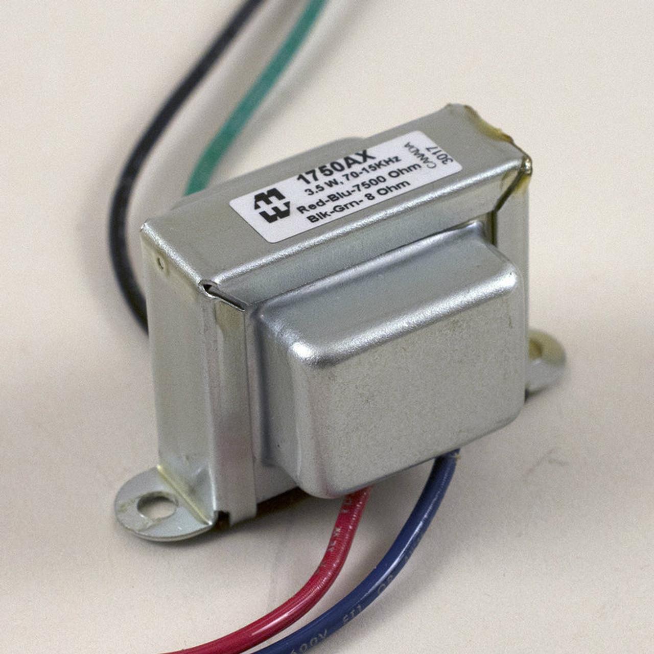Hammond 1750AX - Output Transformer - 7.5K, 8 OHM, SE, 3.5W