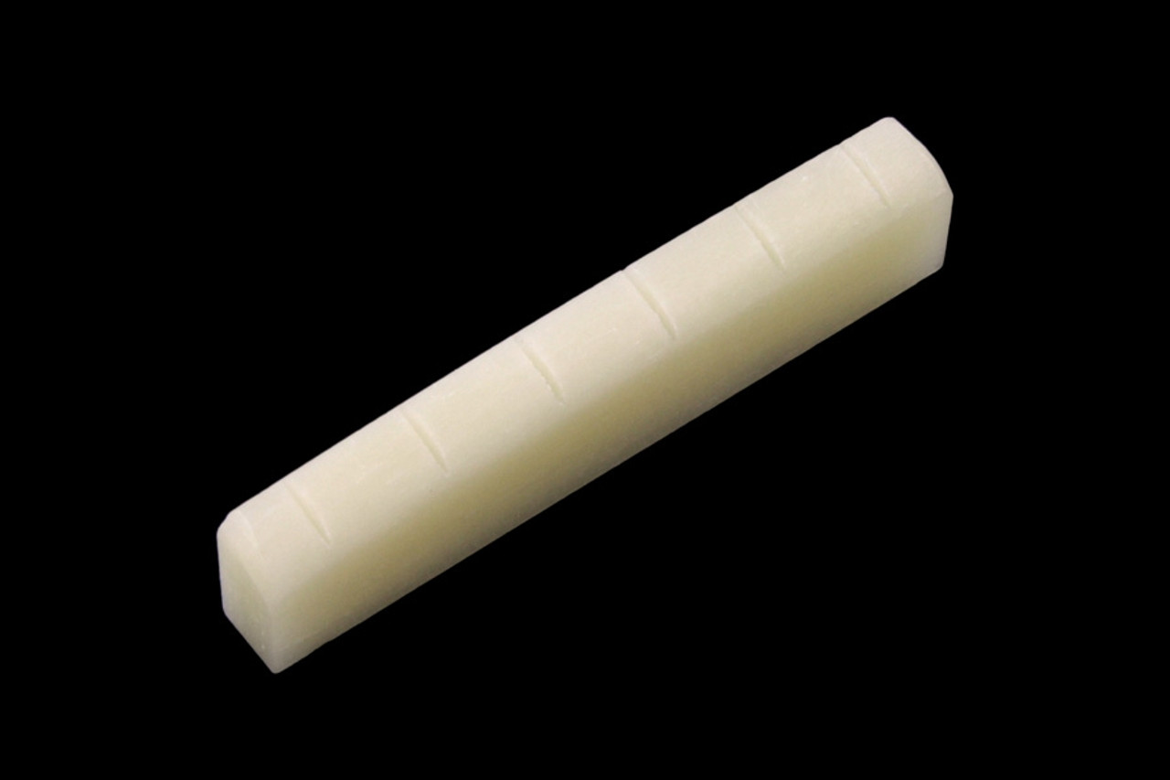 Unbleached Bone Nut - Slotted for Gibson Style