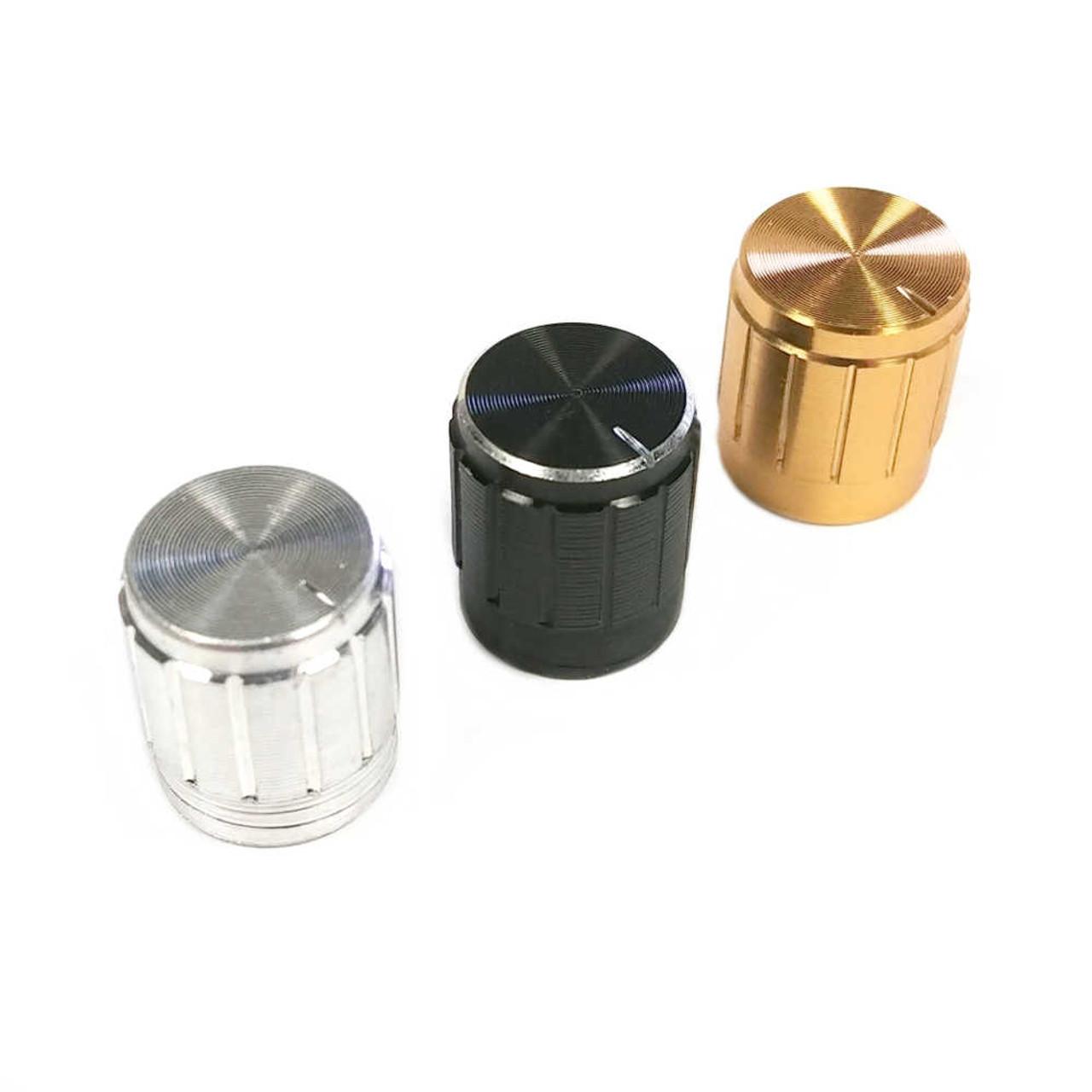 Aluminum Knob - Medium (choose colour)