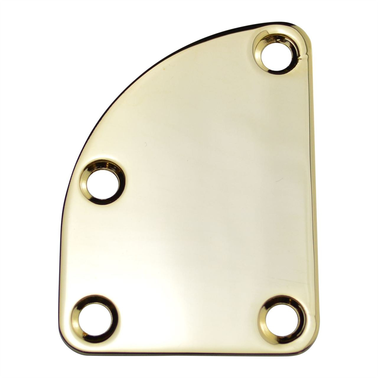 Curved Neck Plate - Gold