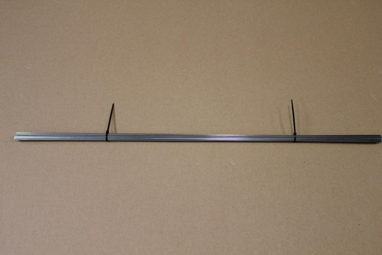 Straight Fret Wire - Medium Nickel/Silver (2ft Piece)