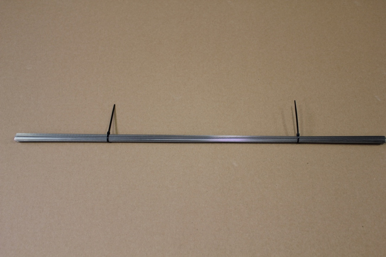 Straight Fret Wire - Jumbo Stainless Steel (2ft Piece)