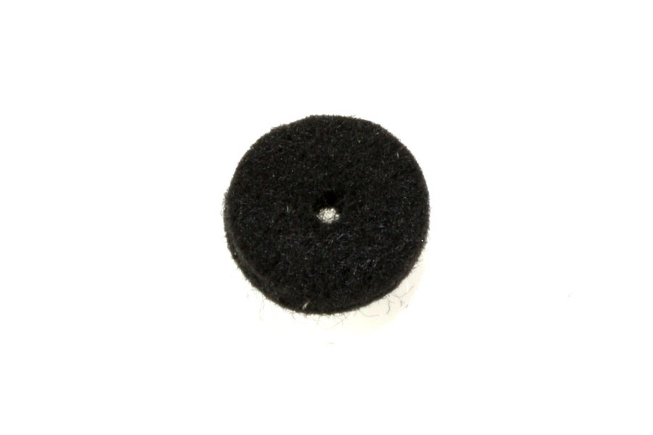 Felt Strap Washers - Black (pair)