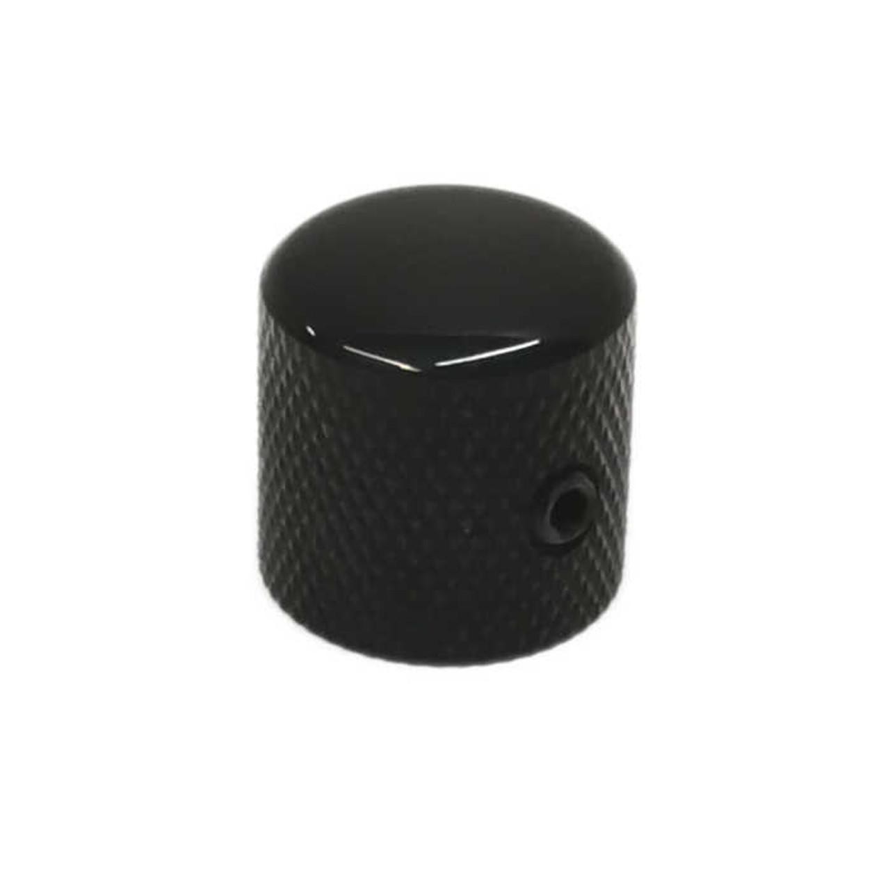 Dome Knob for Split Shaft - Black