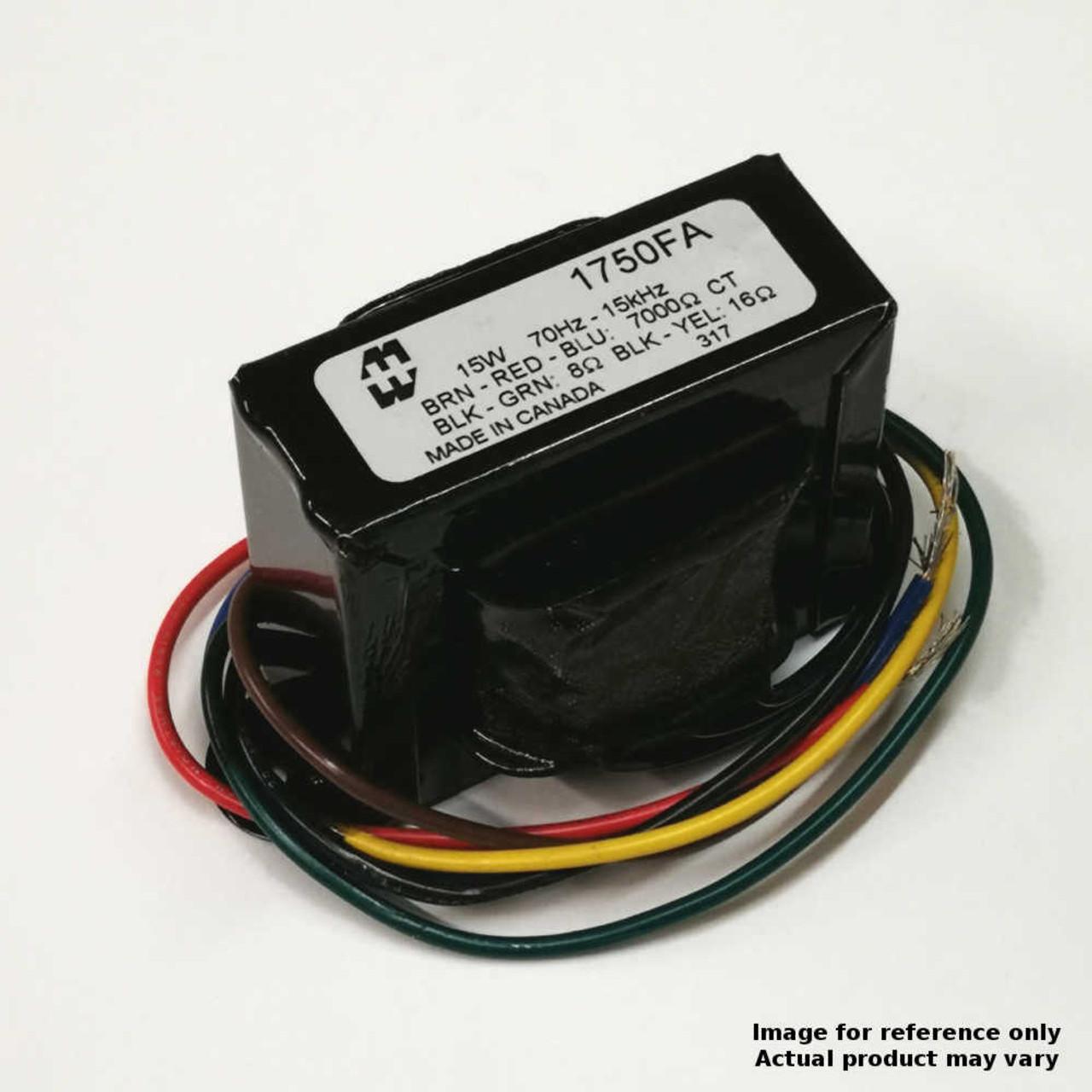 Hammond 1750FA - Output Transformer - 7K, 8/16 OHM, PP, 15W