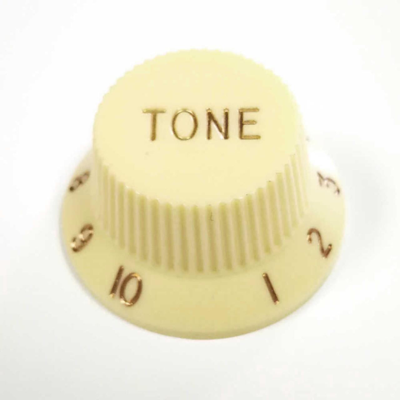 Strat Knob Tone - 18-spline Cream