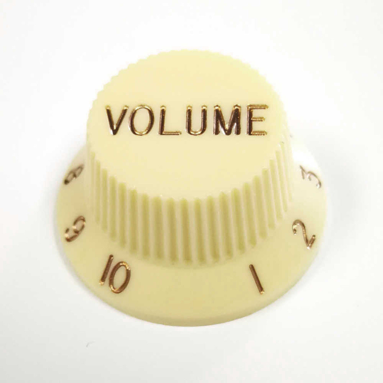 Strat Knob Volume - 18-spline Cream