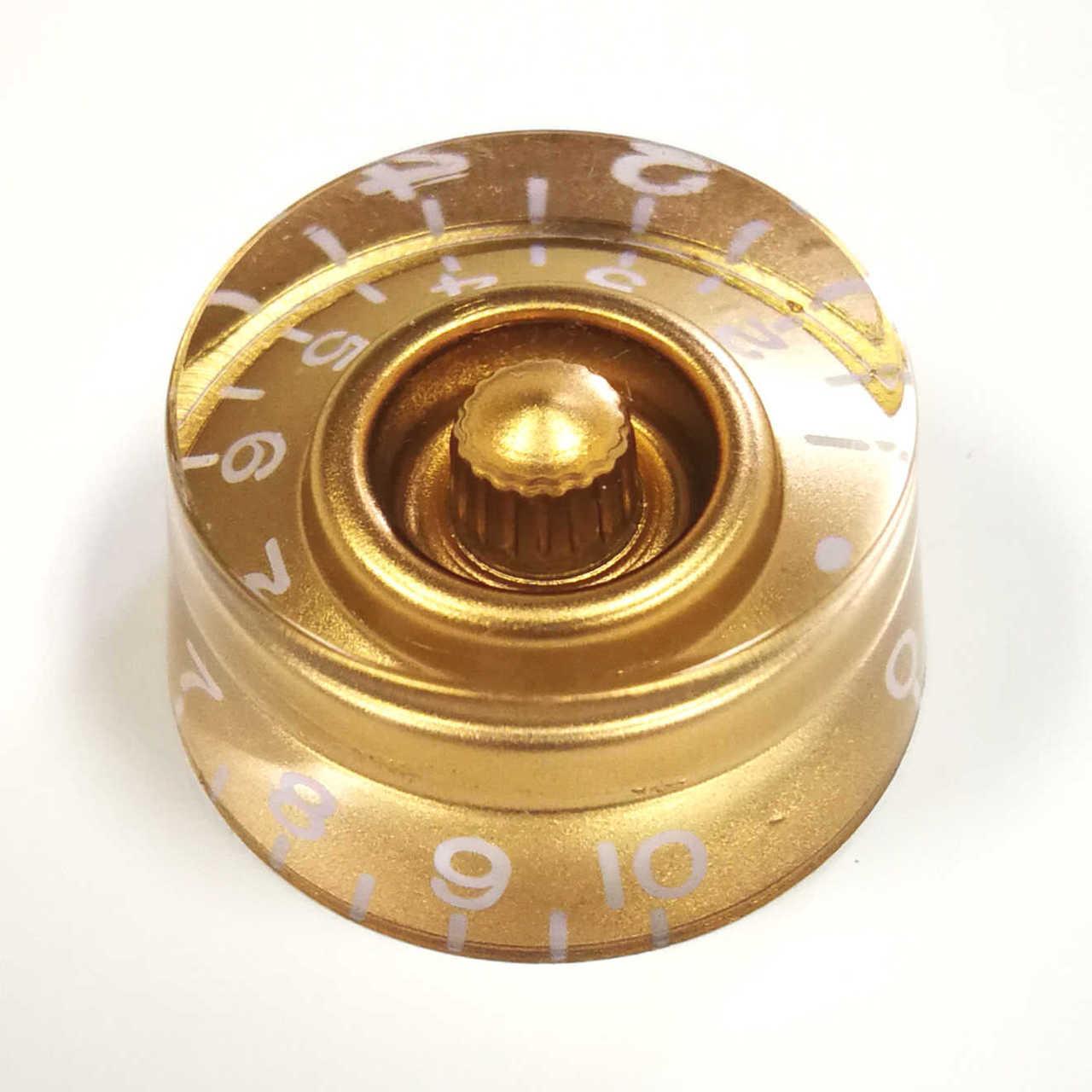 Speed Knob - 18-spline Gold