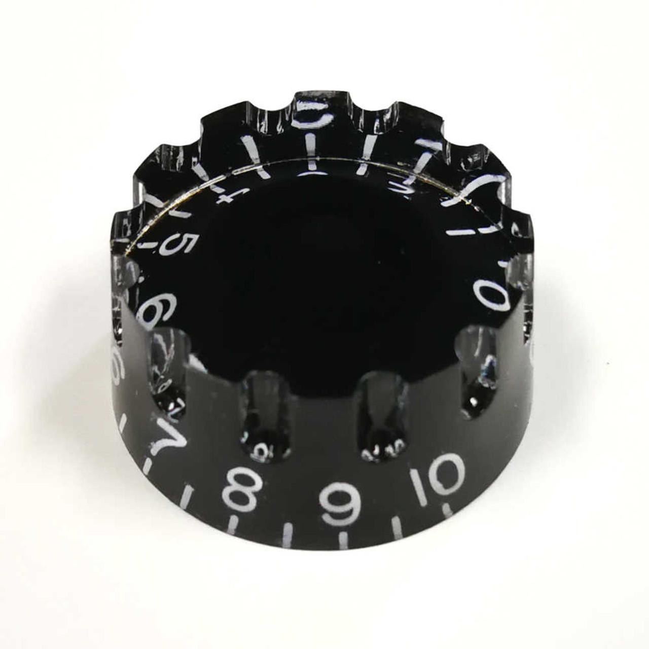 Knurled Speed Knob - 18-spline Black