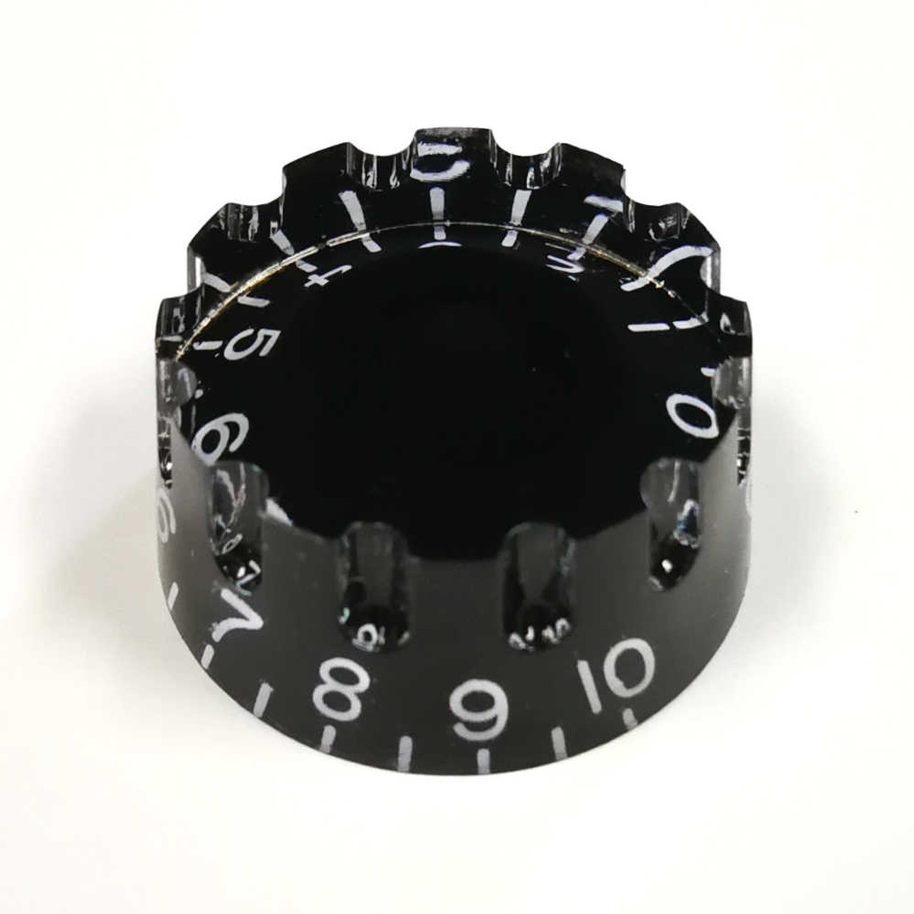 Knurled Speed Knob - 18-spline Black