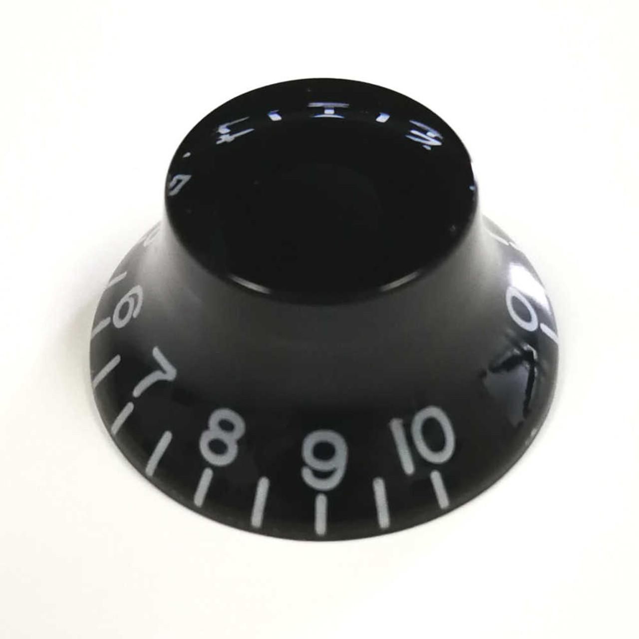 Bell Knob - 24-spline Black