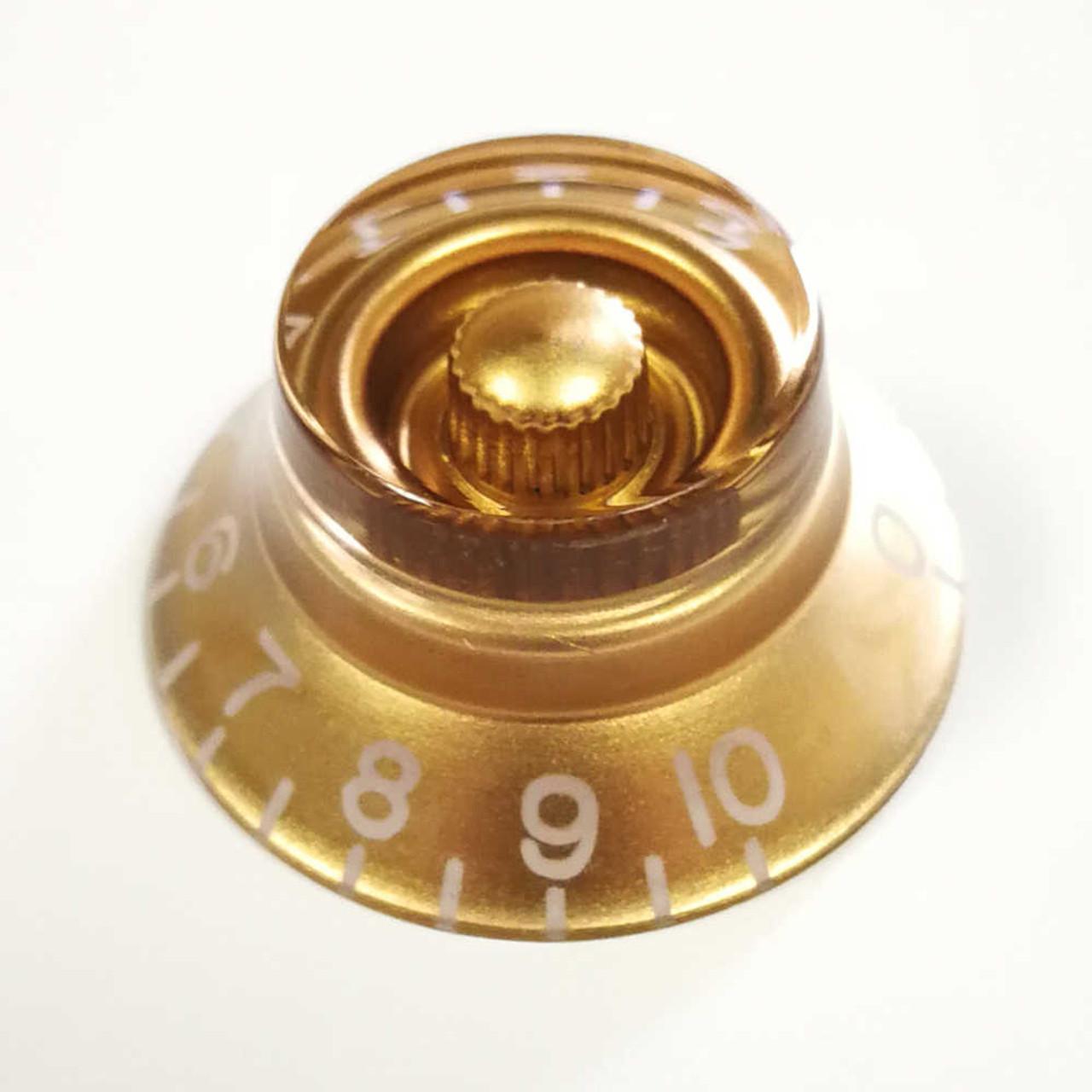 Bell Knob - 24-spline Gold