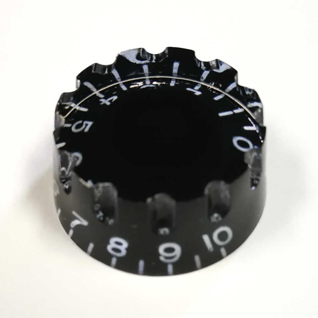 Knurled Speed Knob - 24-spline Black