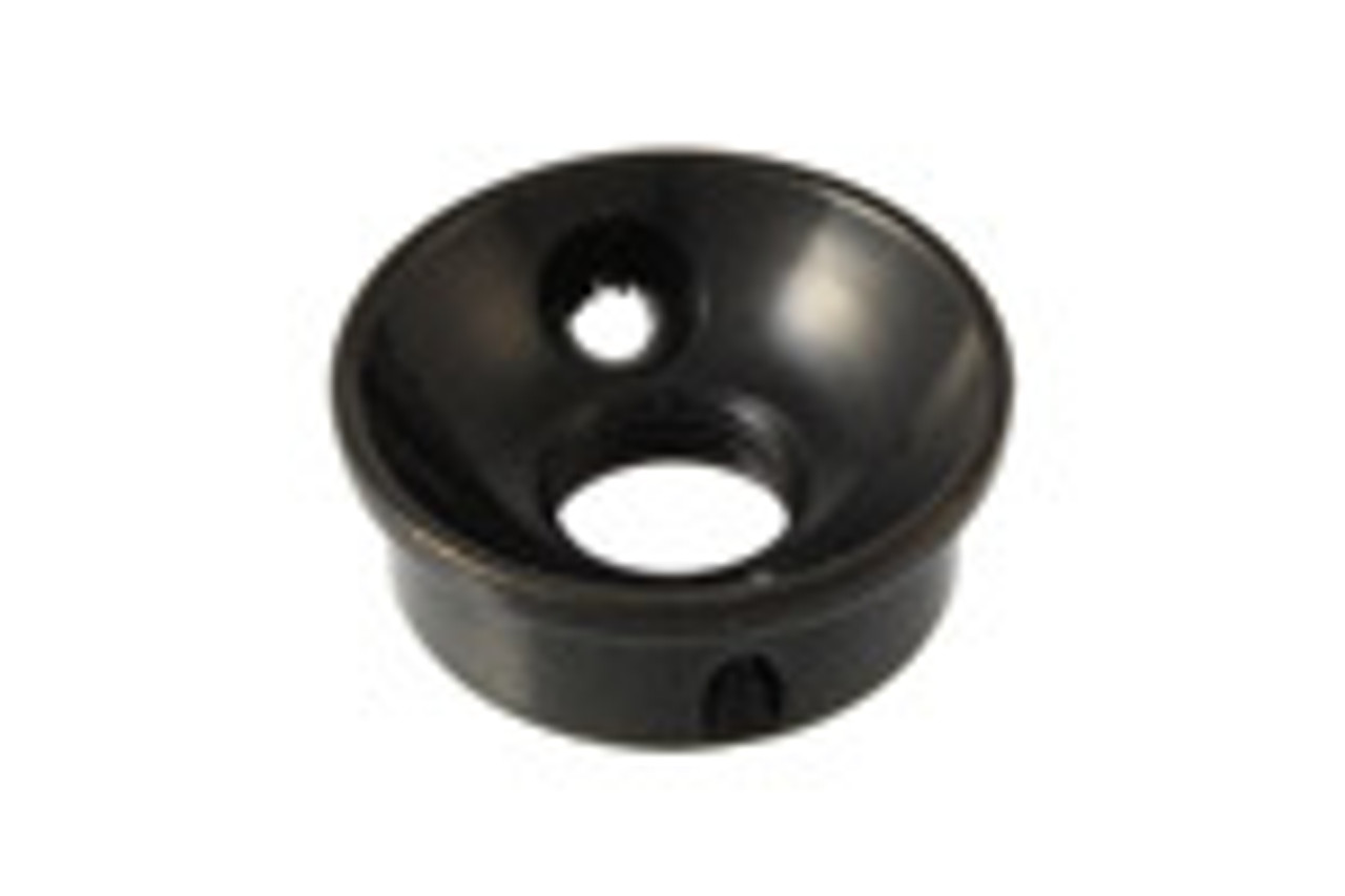 Jack Plate - Electrosocket Import Black (metric)