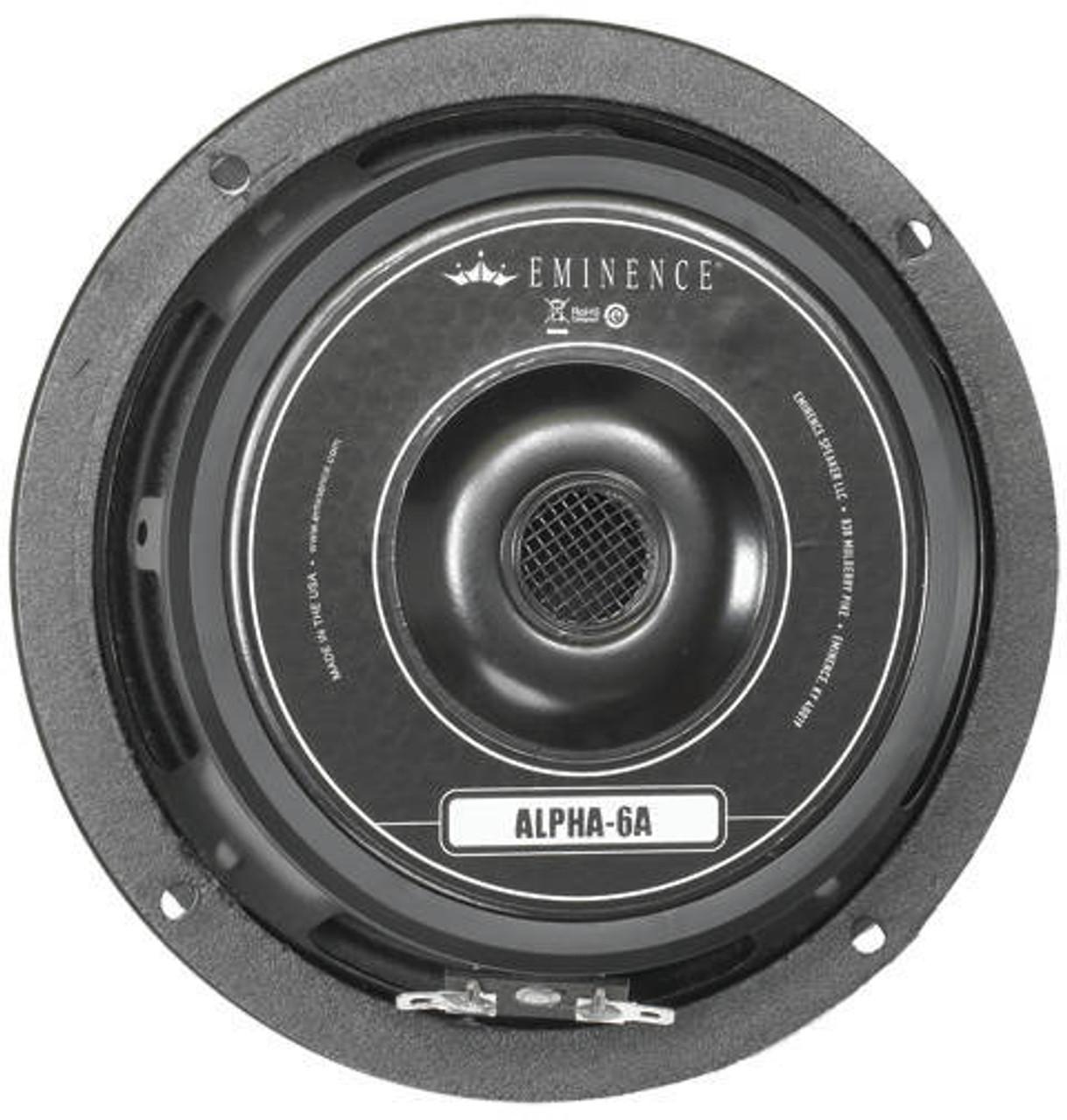Eminence Alpha 6A - 100W 8ohm