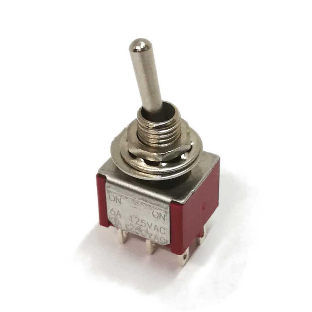 Generic - Mini Switch DPDT On-On