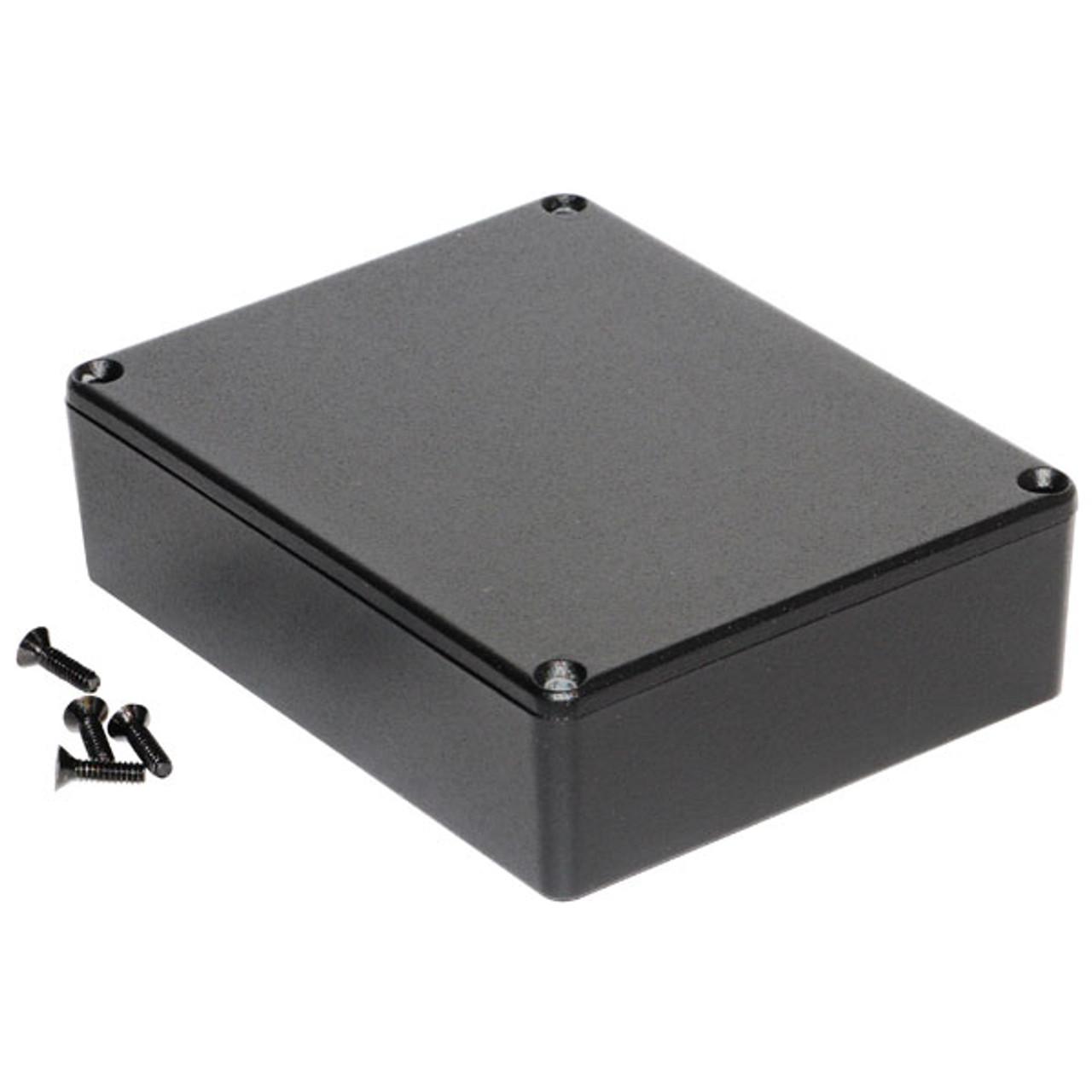 Hammond 1590BBBK - Medium Black Pedal Enclosure