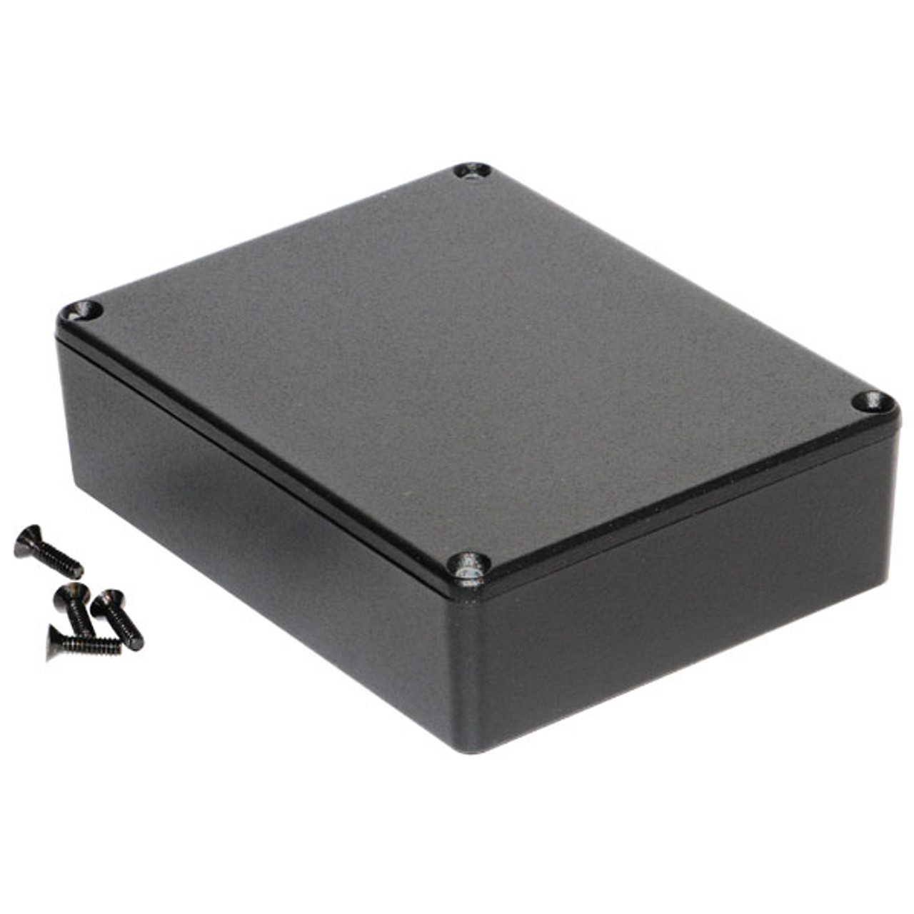 Hammond 1590BBBK - Medium Black Pedal Enclosure