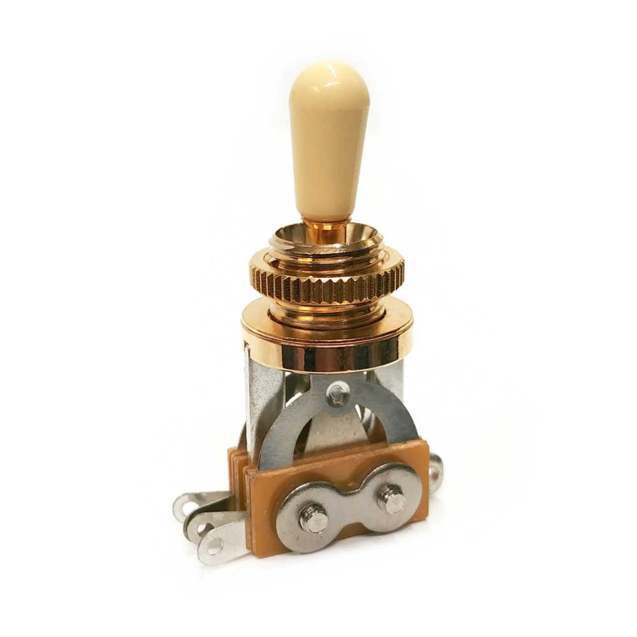 3-way Pickup Selector Switch - Gold /w Ivory Tip