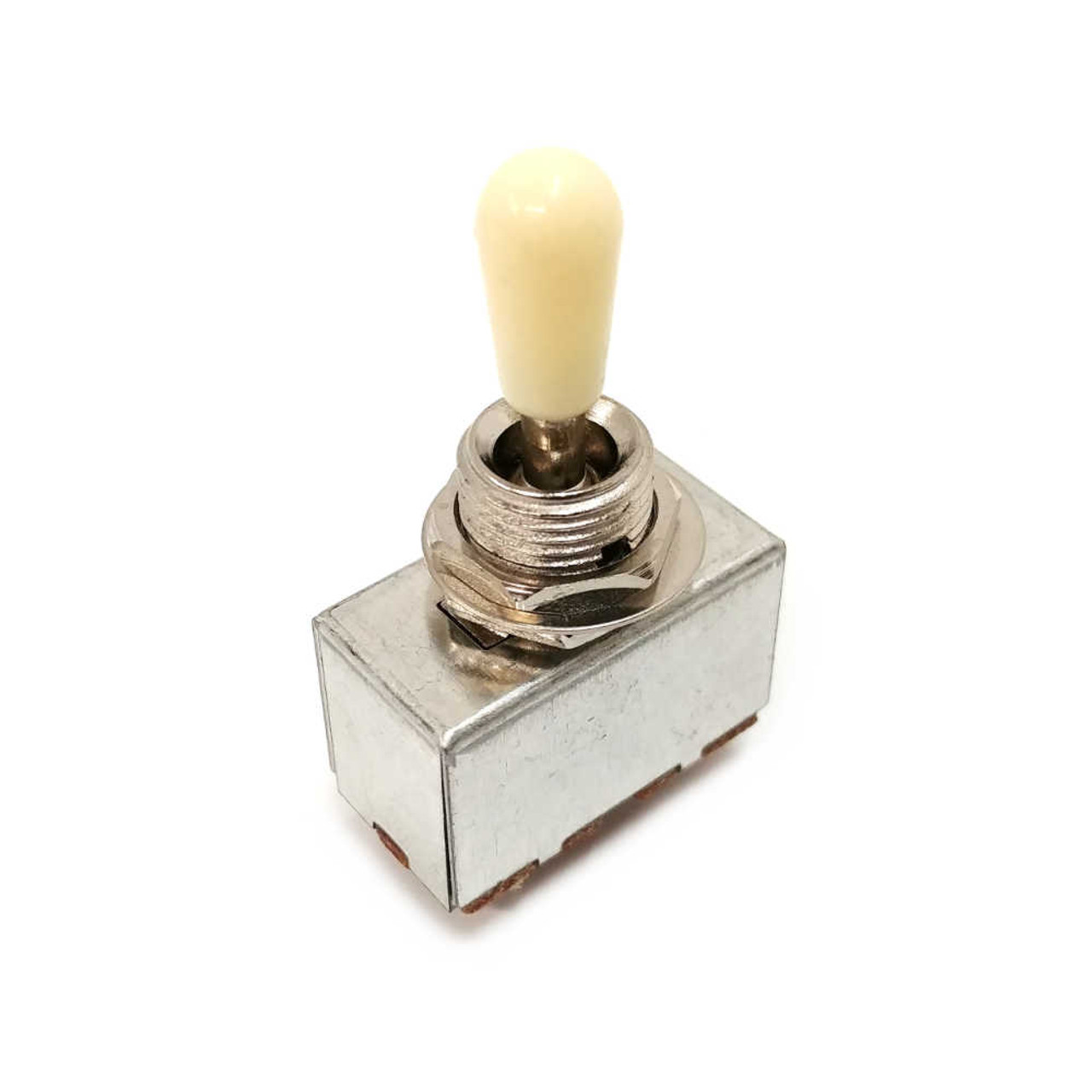 3-way Sealed Pickup Selector Switch - Nickel /w Ivory Tip