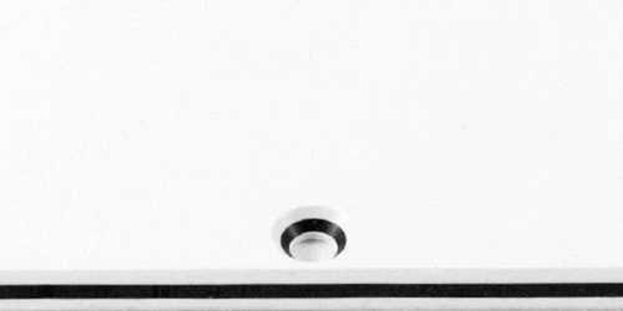 """Pickguard Blank - 3-ply White/Black/White (12"""" x 17"""")"""