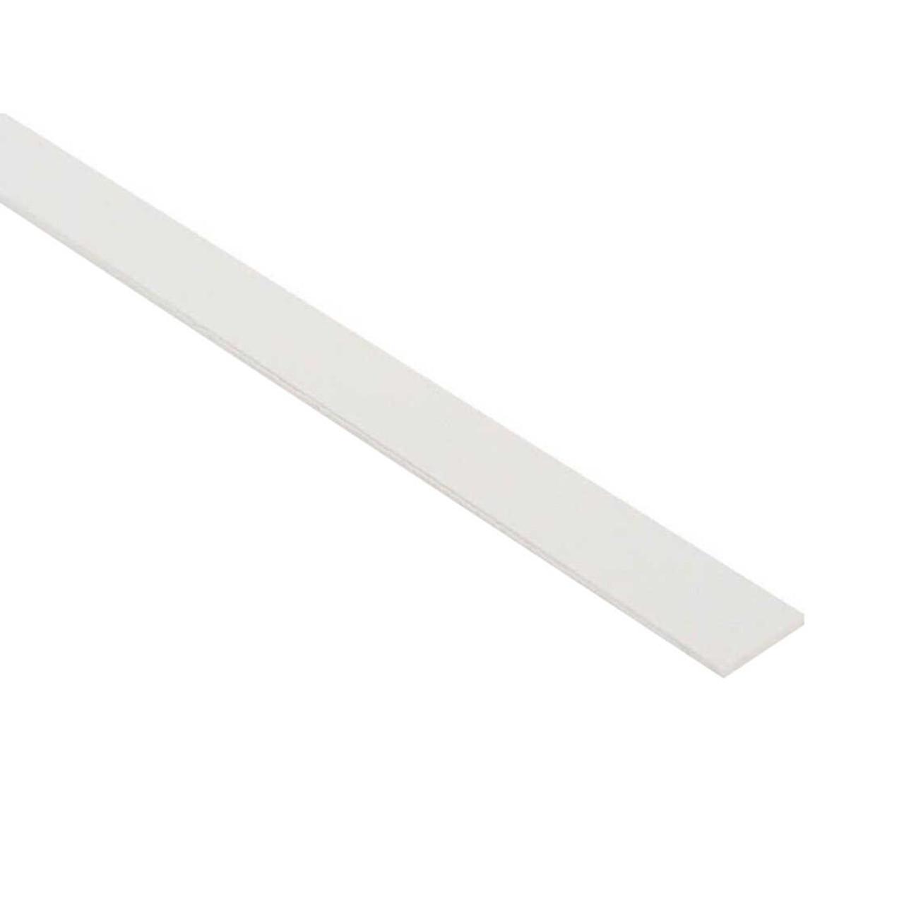 Plastic Binding - 0.5mm White