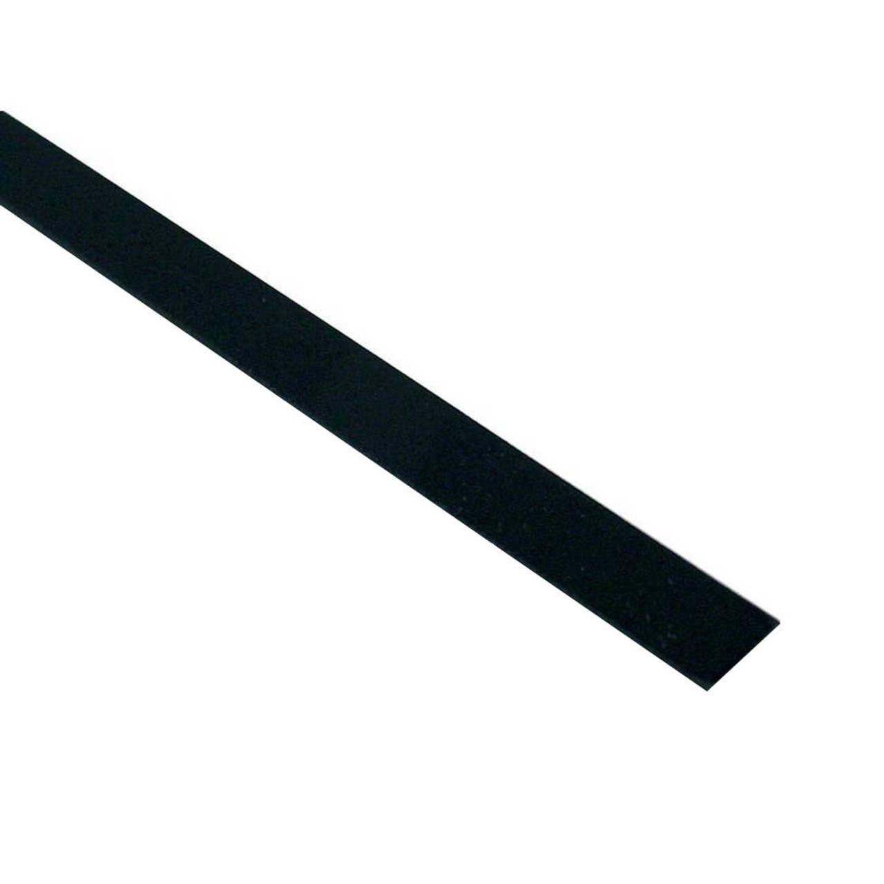 Plastic Binding - 0.5mm Black