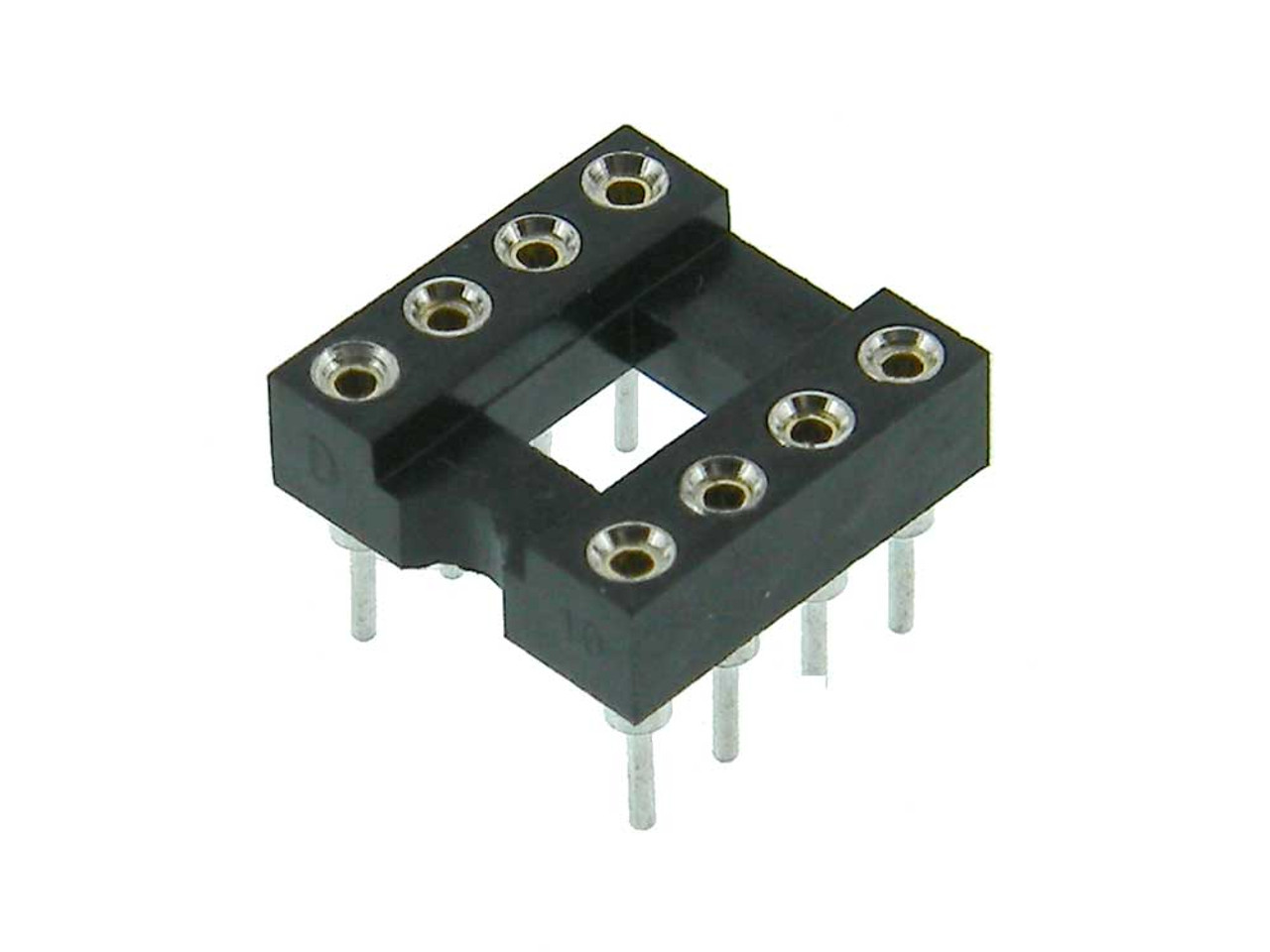 IC Socket - Precision Tooled 8-Pin