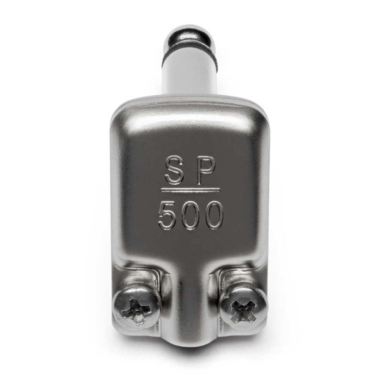 """SquarePlug SP500 - 1/4"""" Mono Right Angle """"Pancake"""" Plug"""