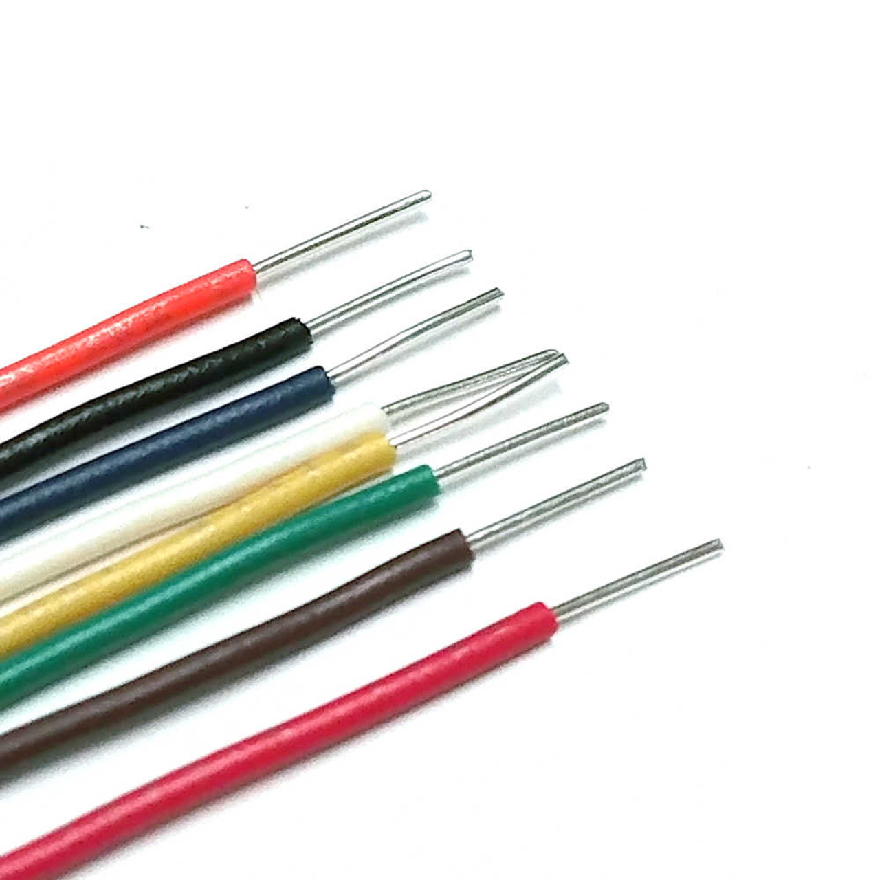 Hookup Wire - 22AWG UL1007/1569 300V Solid - By Foot (Choose Colour)