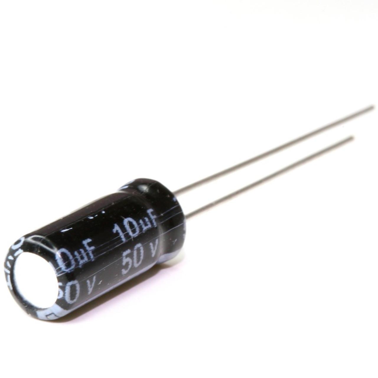 Capacitor - Radial Electrolytic 25V-50V (choose value)