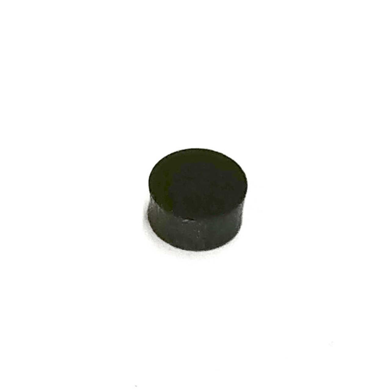 "Inlay Dots - 1/4"" Black (pkg 50)"