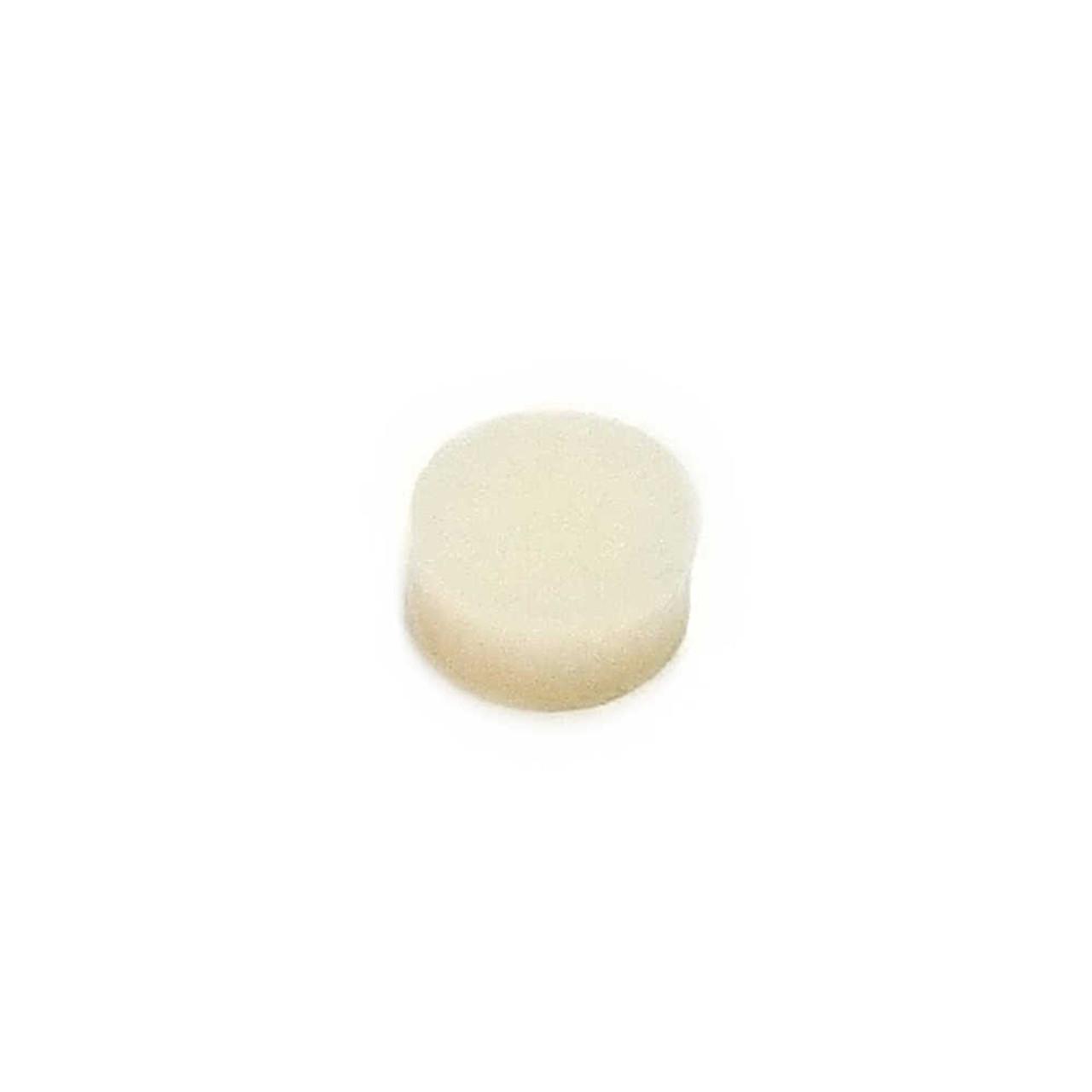 "Inlay Dots - 1/4"" White (pkg 50)"