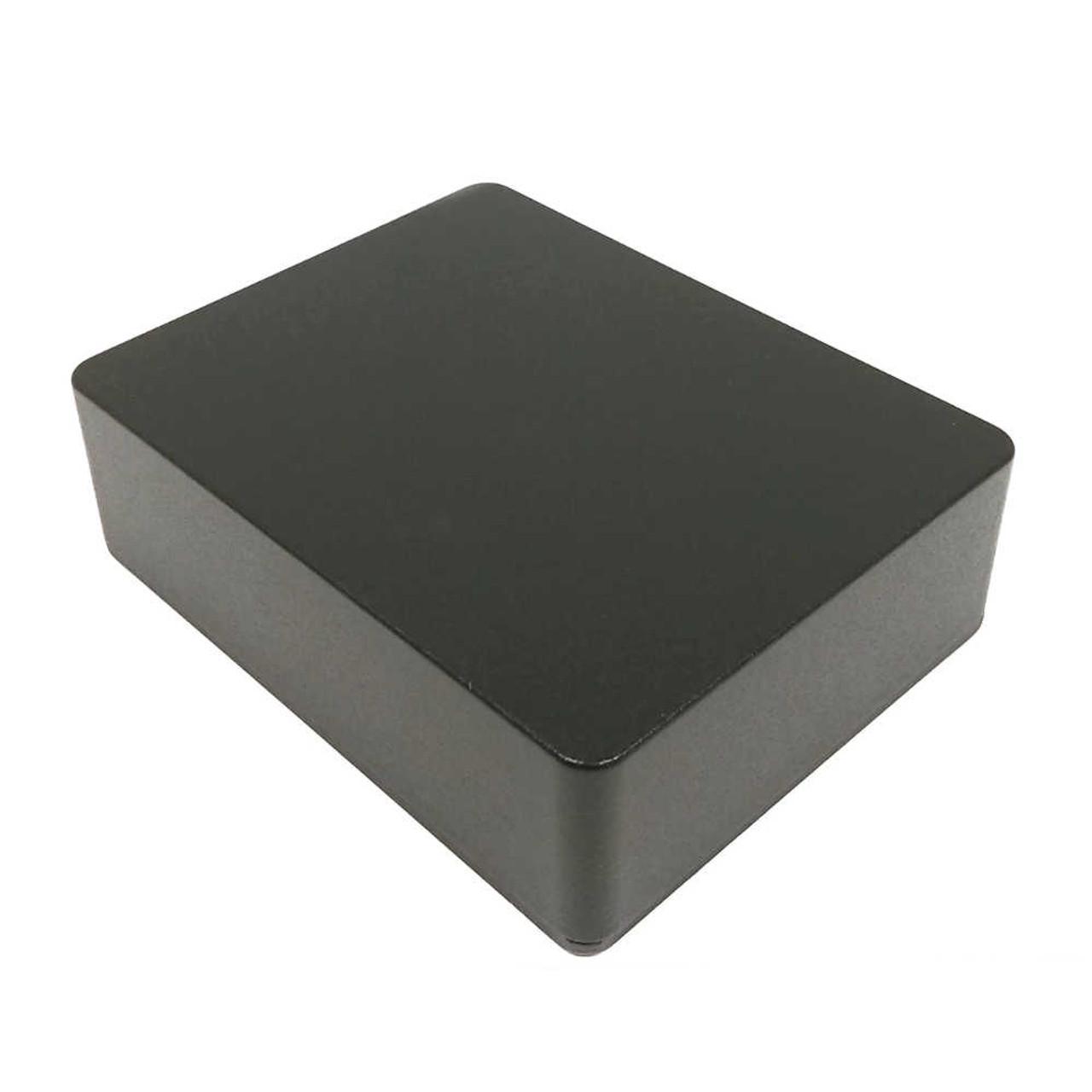 Hammond 1590BB2-BK - Medium+ Black Pedal