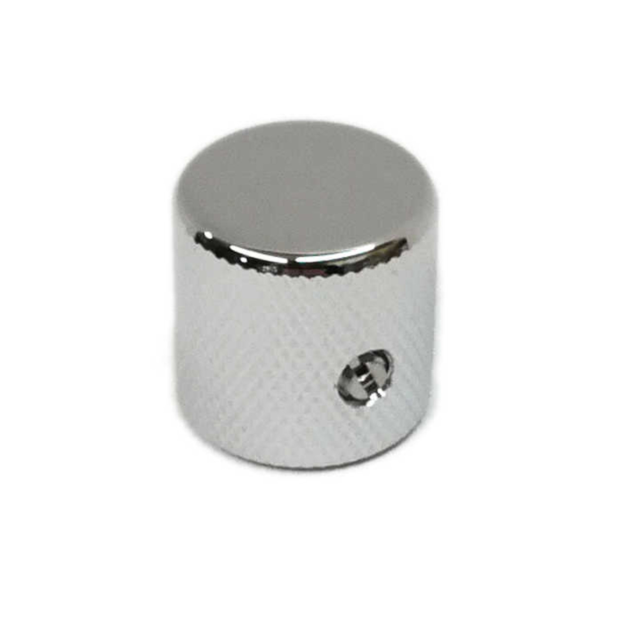 Barrel Knob for Solid Shaft - Chrome