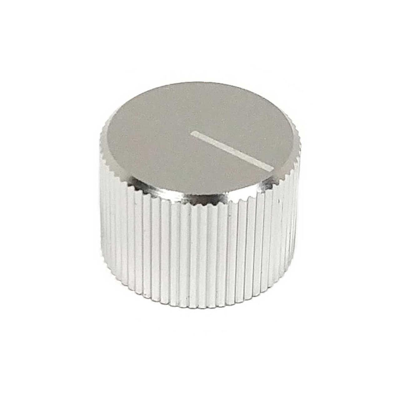 Anodized Aluminum Knob - Silver