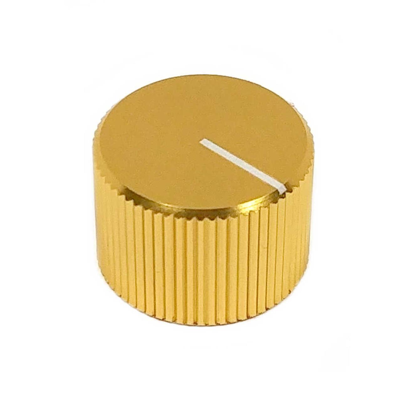 Anodized Aluminum Knob - Yellow