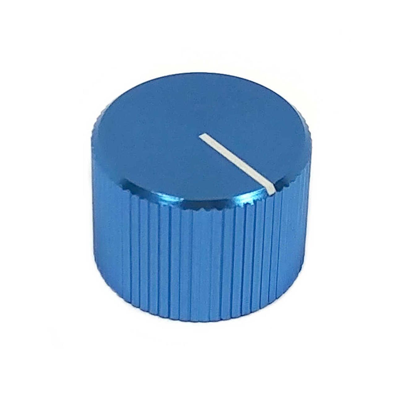 Anodized Aluminum Knob - Blue