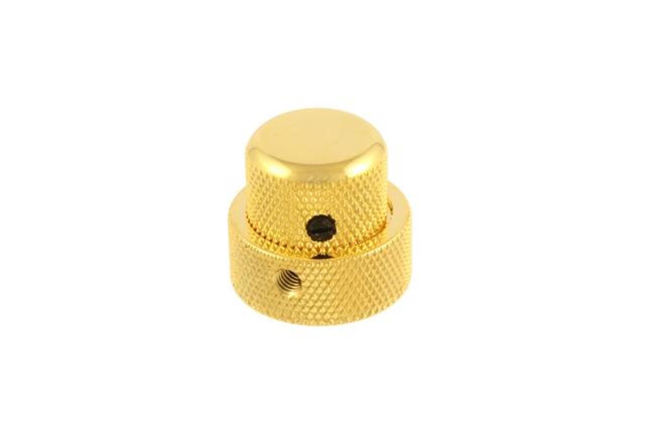 Concentric Knob - Fine Gold
