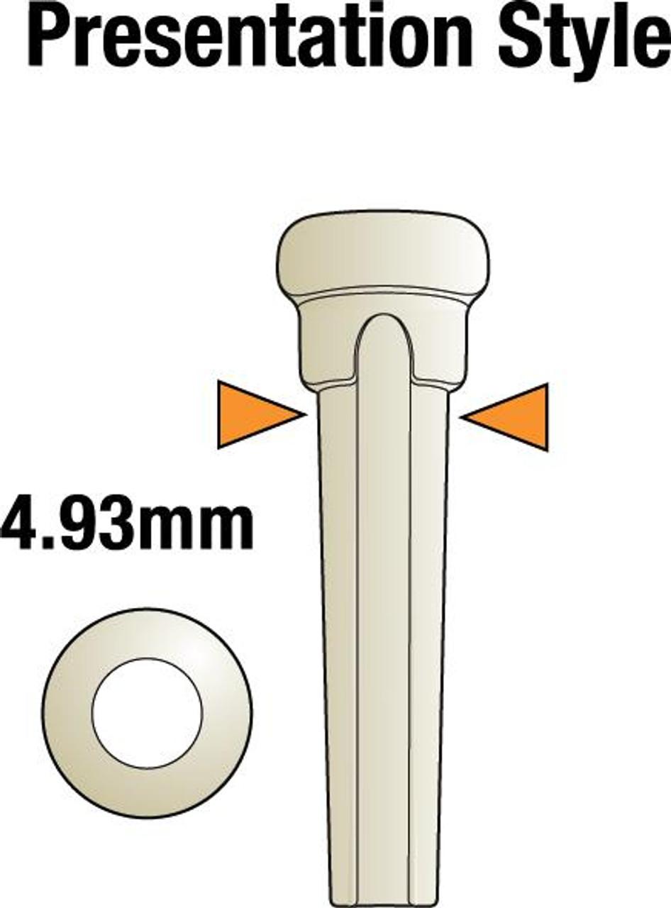 TUSQ Presentation Bridge Pins - White /w Pearl Dots