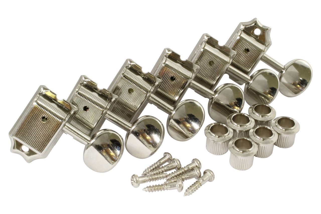 Gotoh Tuner Kit - 6L Vintage Nickel (Bass Side)