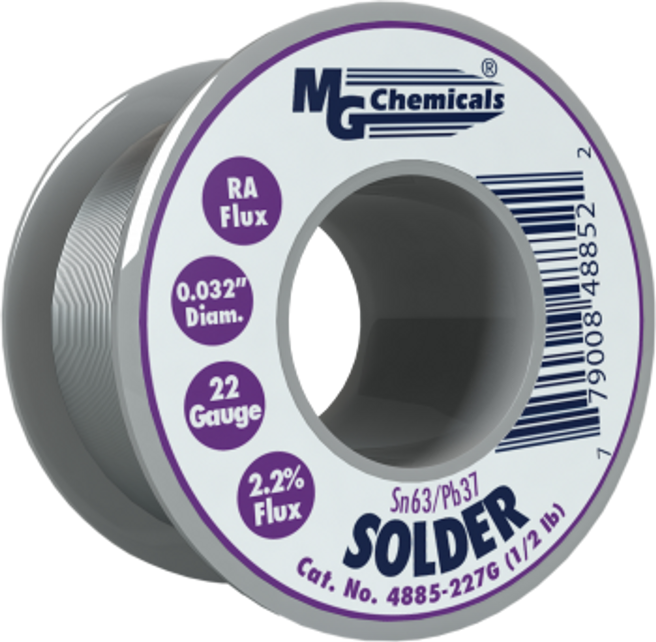 "MG Chemicals - Solder (Sn63/Pb37 0.5lbs 0.032"")"