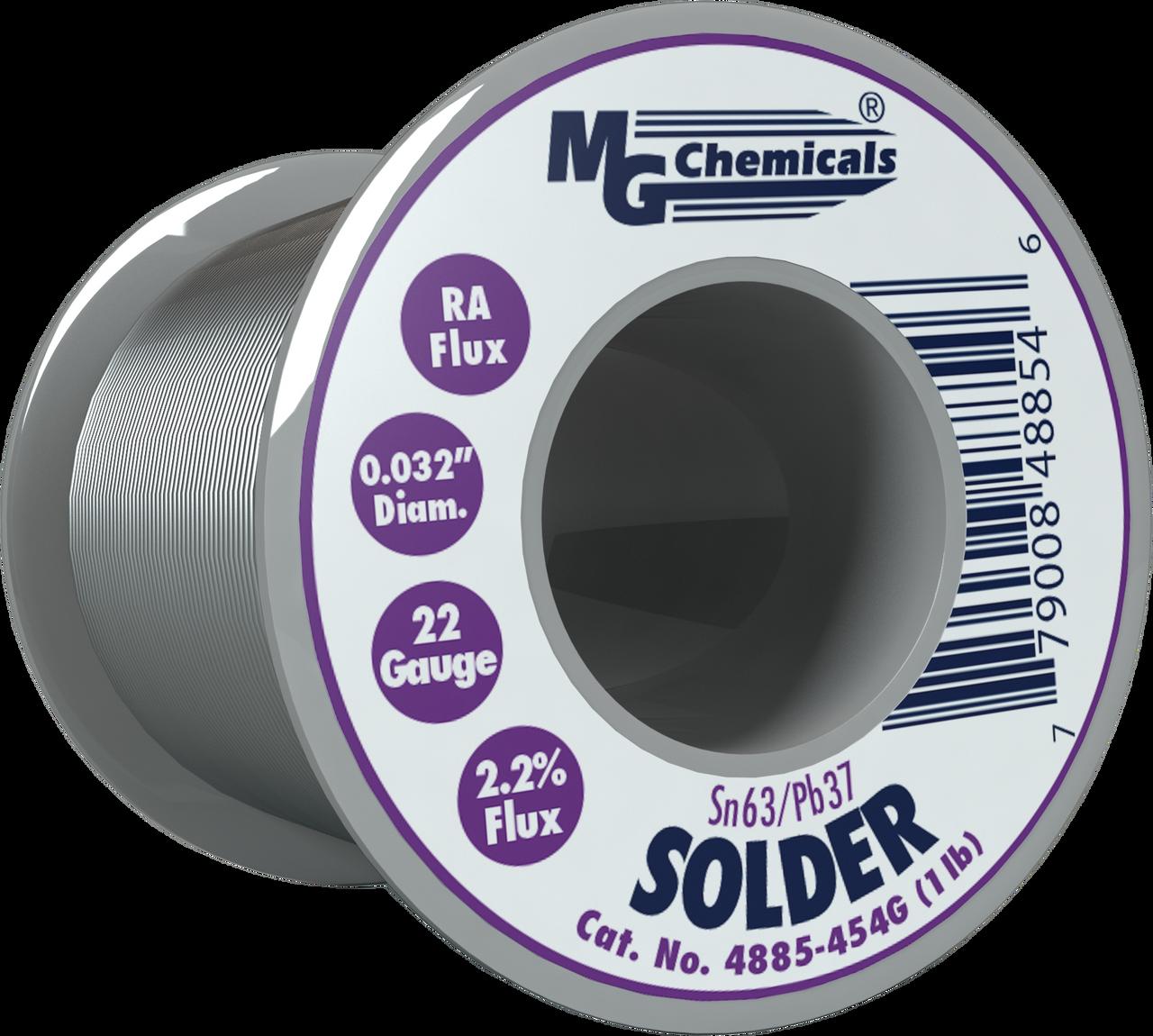 "MG Chemicals - Solder (Sn63/Pb37 1.0lbs 0.032"")"