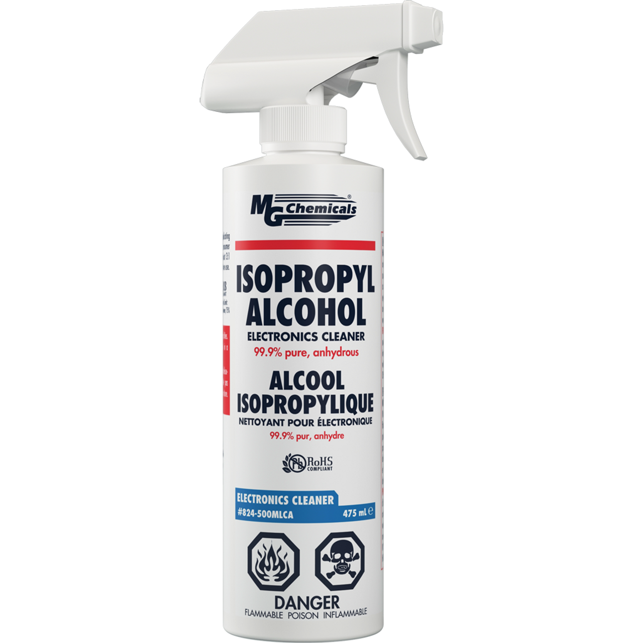 MG Chemicals - 99% Isopropyl Alcohol (500mL)