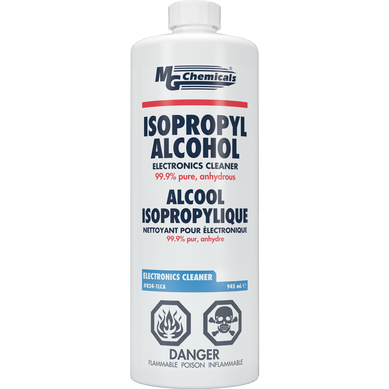MG Chemicals - 99% Isopropyl Alcohol (1.0L)