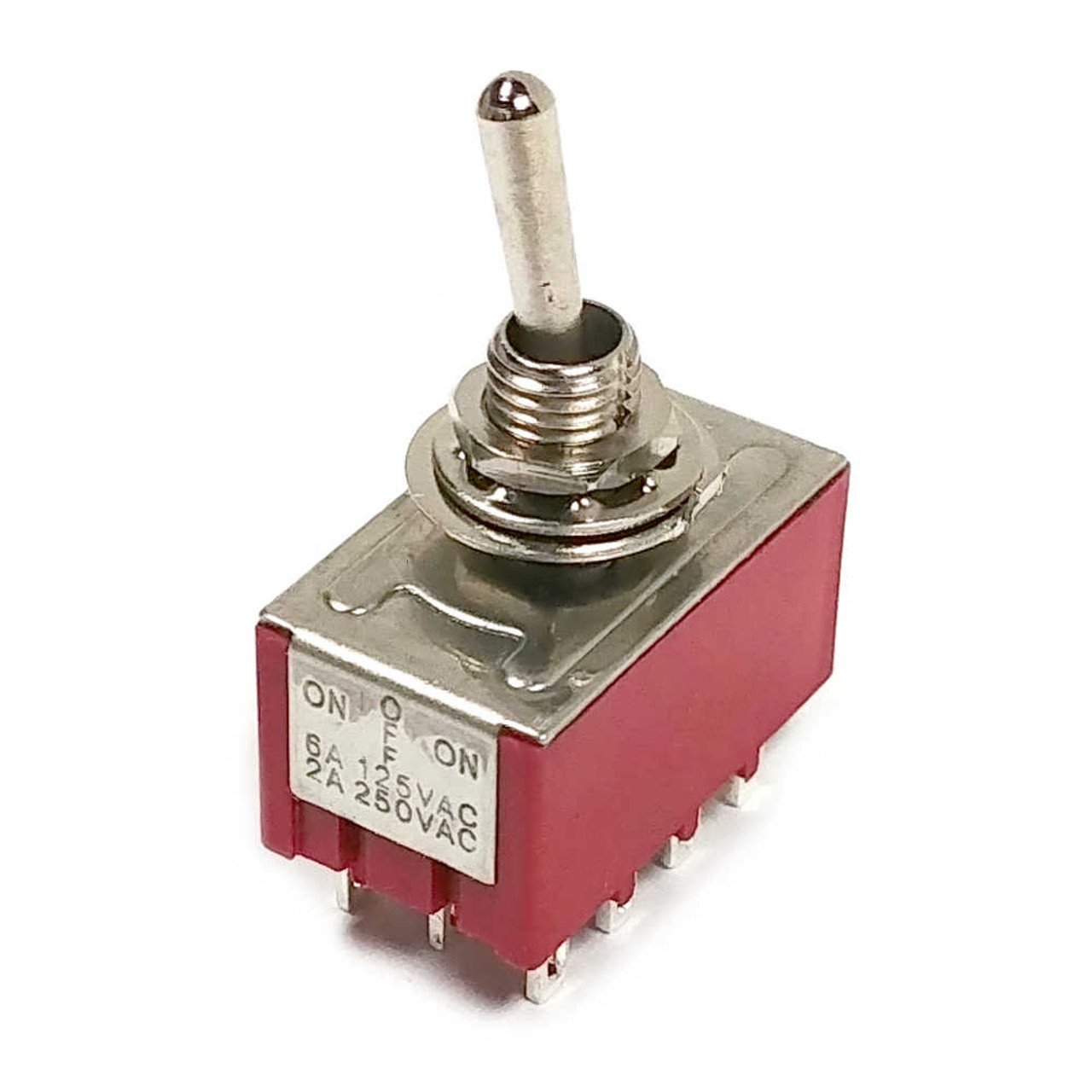 Mini Switch - Standard 4PDT On-Off-On